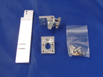 """Picture of 1 1/8"""" Dual Pickup Straight Rudder Kit"""
