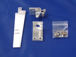 """Picture of 2 1/4"""" Dual Pickup Tapered Rudder Kit"""