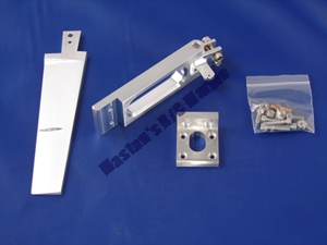 "Picture of 4"" Single Pickup Rudder Kit"