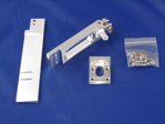 """Picture of 4"""" Dual Pickup Straight Rudder Kit"""