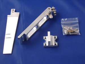 """Picture of 5"""" Dual Pickup Tapered Rudder Kit"""