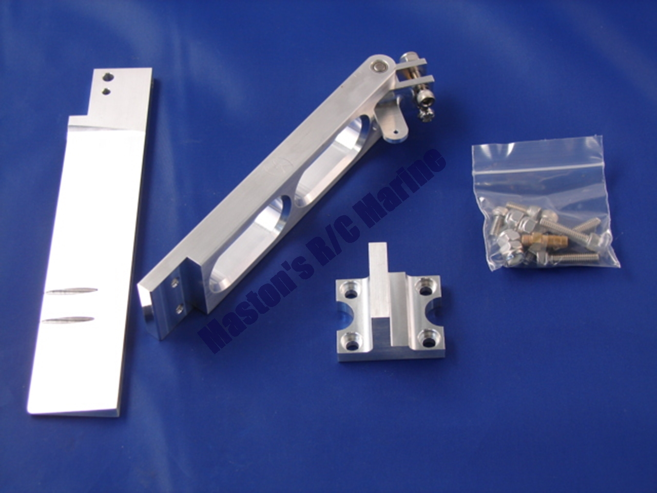 """Picture of 5"""" Dual Pickup Straight Rudder Kit"""