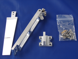"Picture of 6"" Single Pickup Rudder Kit"