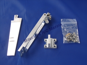 """Picture of 6"""" Dual Pickup Tapered Rudder Kit"""
