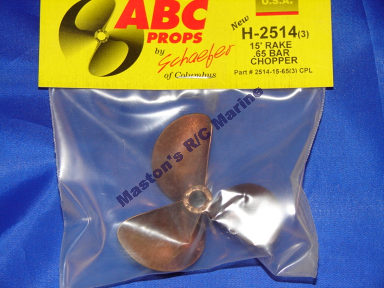 Picture of  2514 3 Blade Propeller