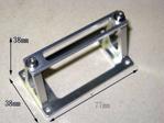 Picture of Aluminum servo mount - 1/4 scale