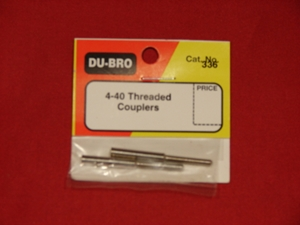 Picture of Threaded Coupler 4-40