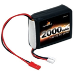 Picture of 7.4V 2000mAh 2S 5C LiPo Receiver Pack