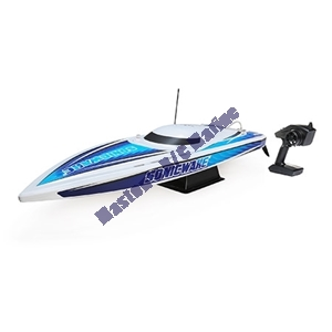 "Picture of 36"" Sonicwake,Wht,Self-Right Deep-V Brushless RTR"