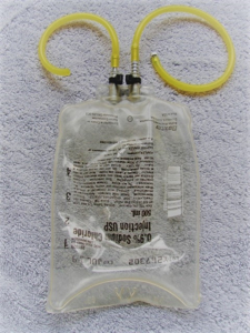 Picture of 500ml Gas Bag Setup -2 line