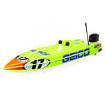 """Picture of 17"""" Power Boat Racer Deep-V RTR, Miss GEICO"""