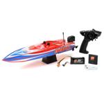 "Picture of 17"" Power Boat Racer Deep-V RTR, Lucas Oil"