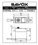 Picture of Savox SC-0251MG