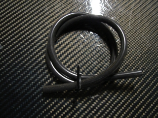 Picture of Heavy Duty XL Black Silicon Tubing