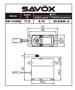 Picture of SW1210SG-BE WATERPROOF CORELESS DIGITAL SERVO