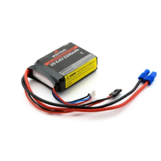 Picture of 6.6V 2200mAh 2S LiFe Receiver Battery: Universal Receiver, EC3